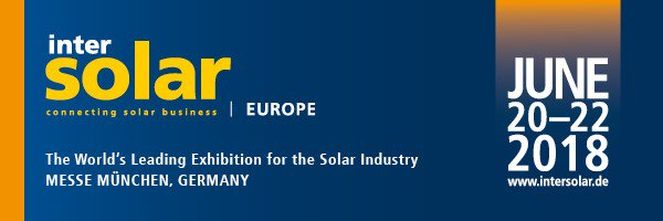 Intersolar Europe morgen van start in München
