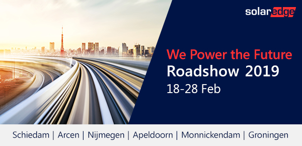 Roadshow SolarEdge in februari